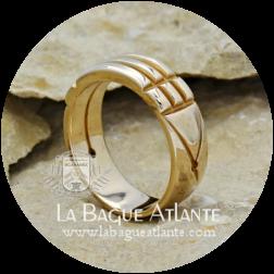 Bague Atlante (Rê) *Classique en Bronze Massif 100%