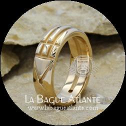 Bague Atlante (Rê) Royale *Héritage en Bronze Massif 100%