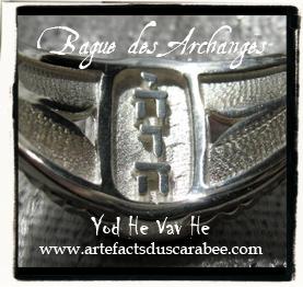 Tétragramme Sacré de la Bague des Archanges