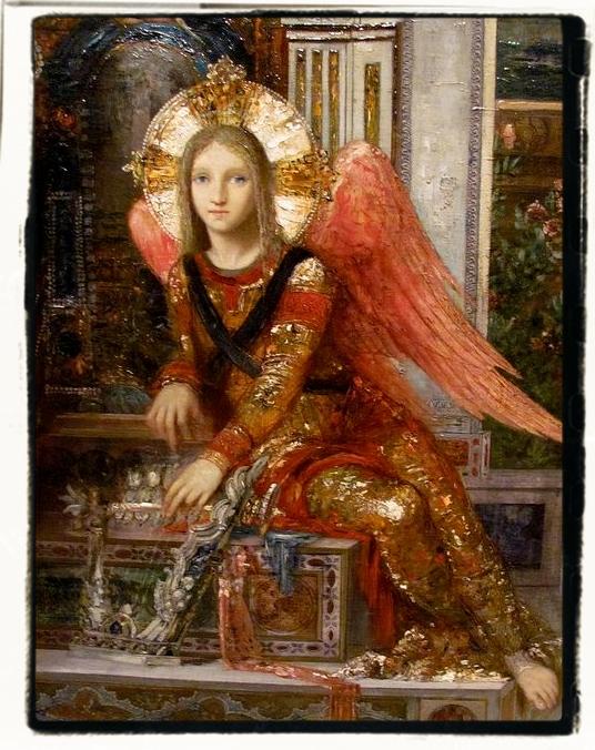 Ange céleste du Roi David